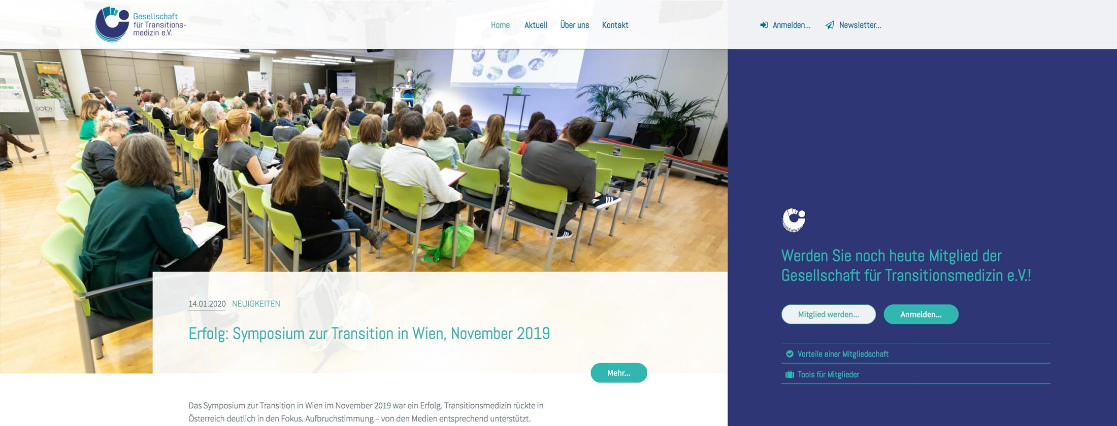 Website transitionsmedizin.de