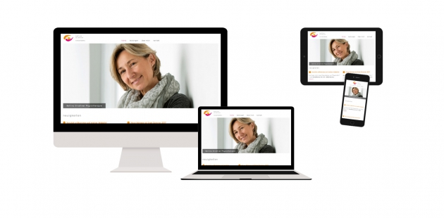 Logo & Website für Bettina Strattner Physiotherapie